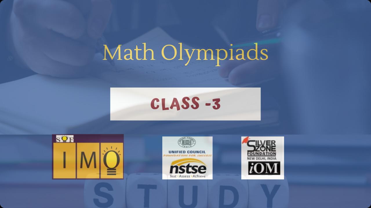 Math Olympiads- Class 3
